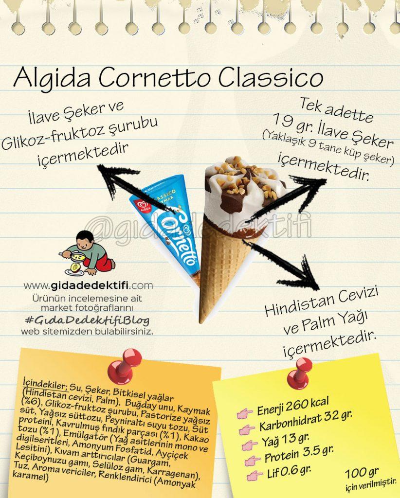 Algida Cornetto Classico Gida Dedektifi