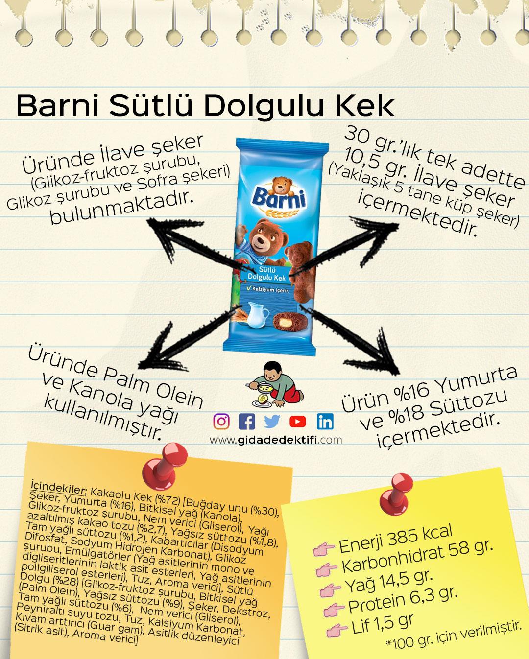Barni-Kek-Sütlü-Dolgulu