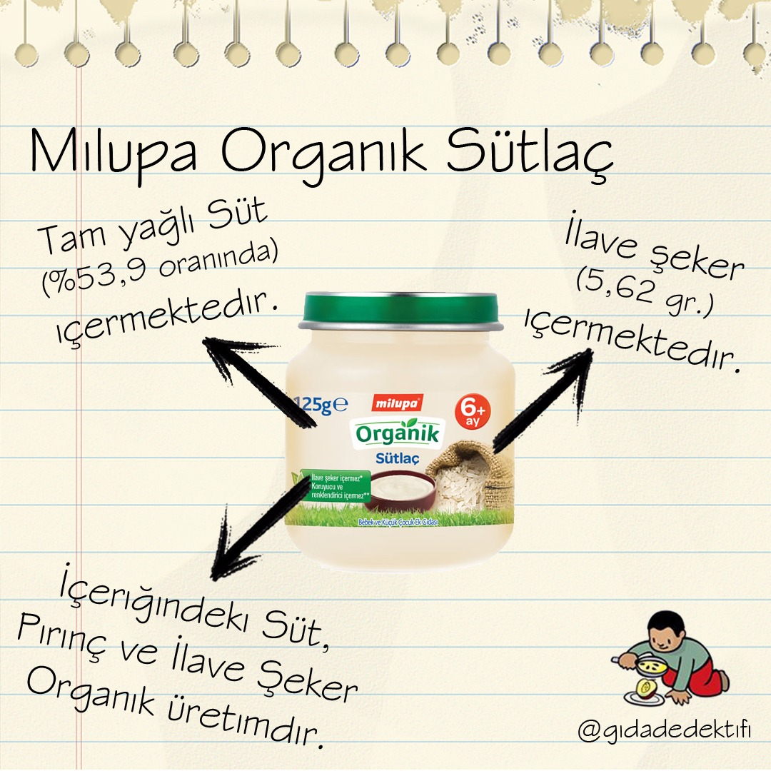 Milupa Organik Sütalç